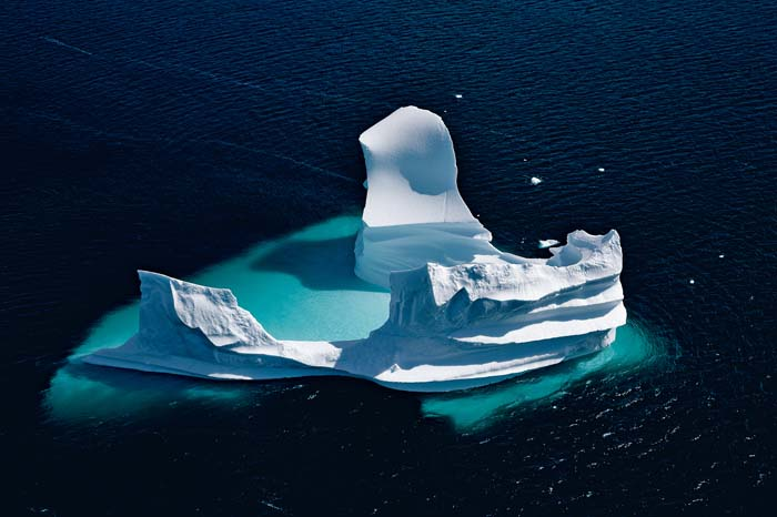 Iceberg en Groenlandia