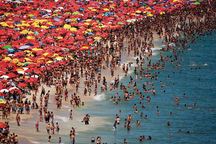 Playa de Ipanema, Brasil