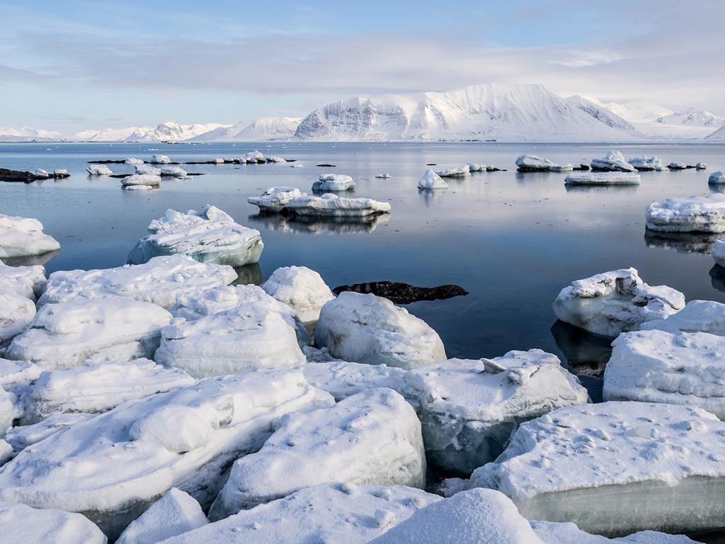 El Ártico es uno de los principales afectados por el cambio climático