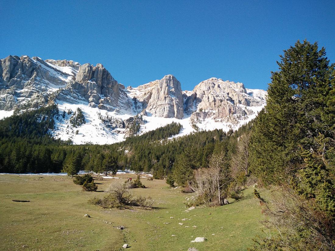 Canals Cristall i Ordiguer des de Prat de Cadí